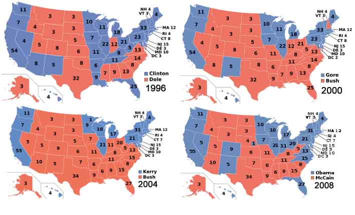 Final US Presidential Electoral Map Search Marketing Live - 2012 presidential election us map